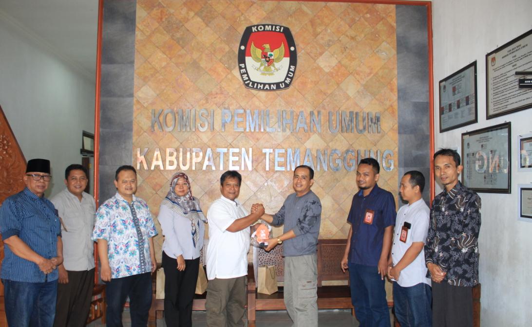 Kunjungan Kerja dari KPU Kabupaten Grobogan