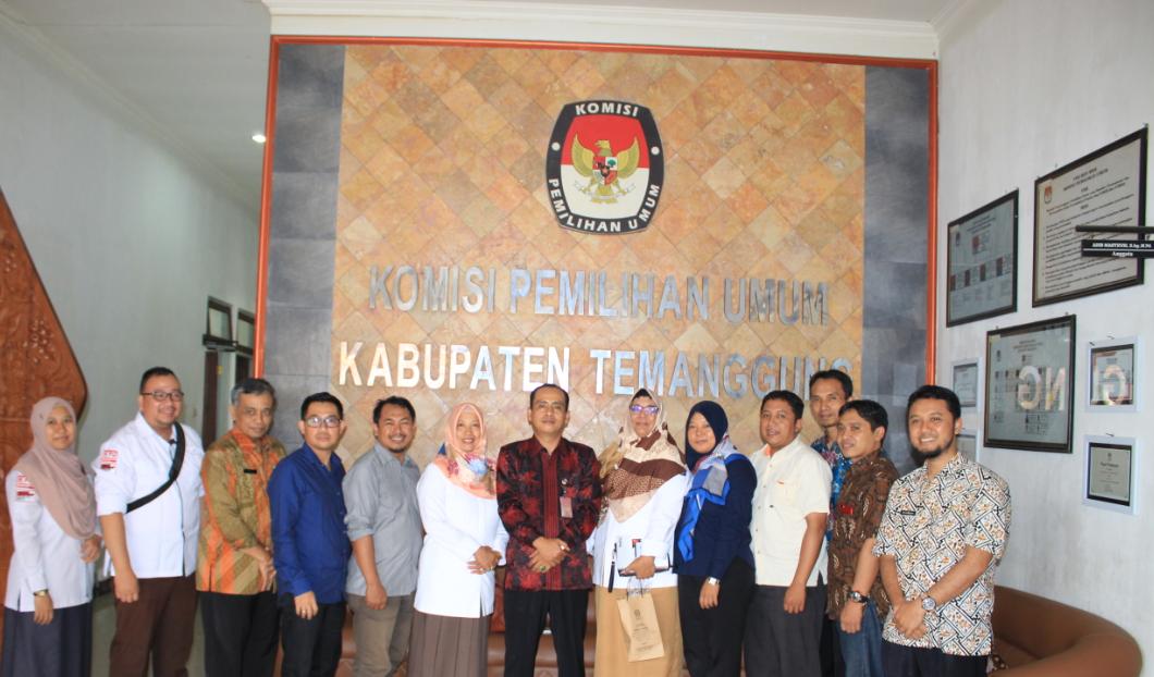 Kunjungan Kerja dari KPU Kota Magelang