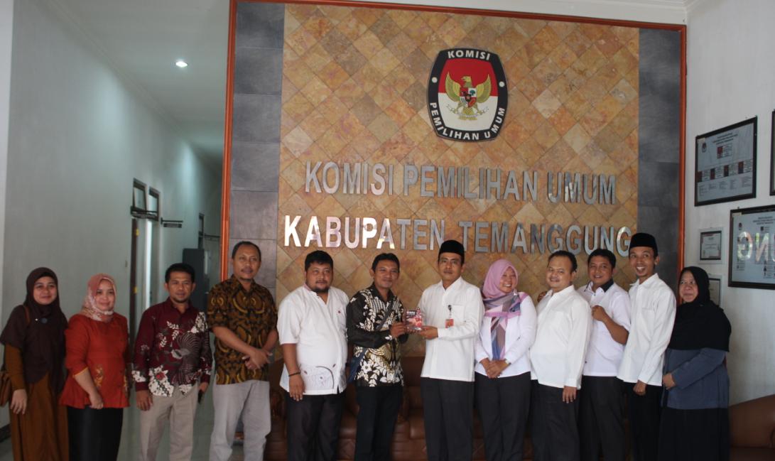 Kunjungan Kerja dari KPU Gorontalo