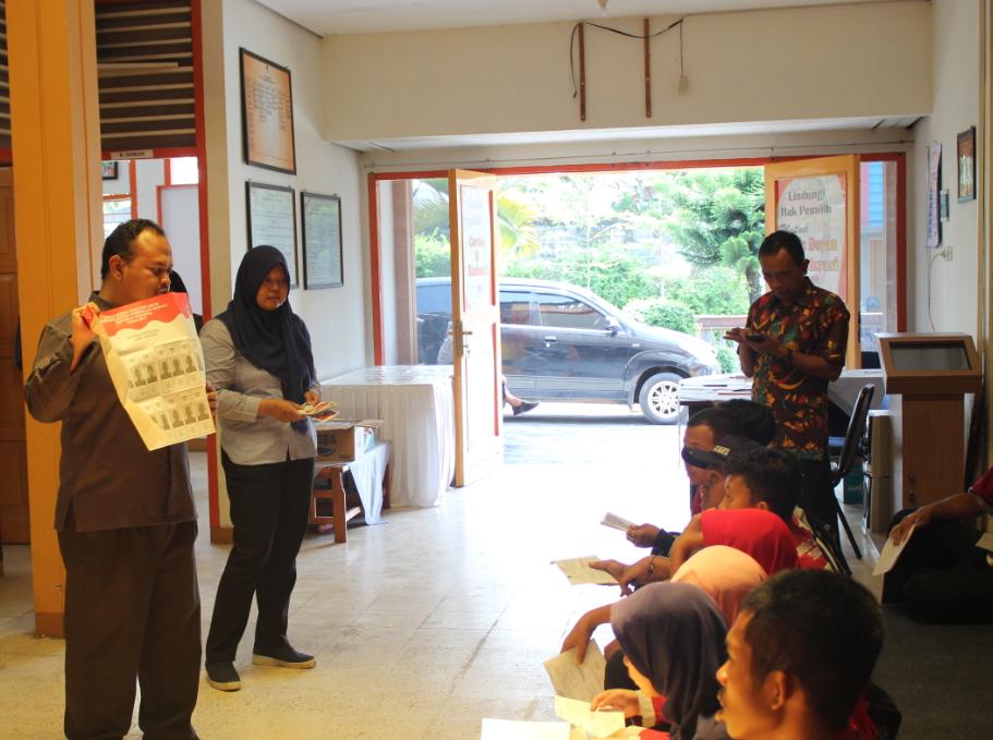 Kunjungan di Graha Pintar Pemilu